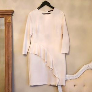 Perfect condition M&S Collection Cream Dress